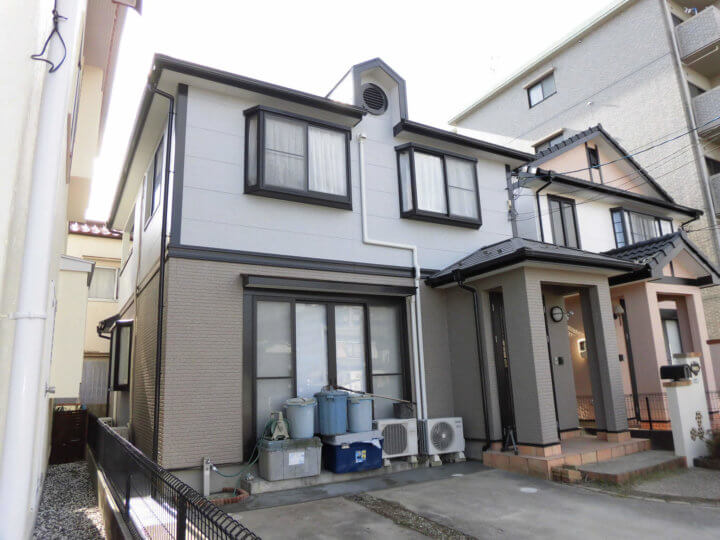 広島市佐伯区 O様邸 外壁塗装・屋根塗装工事