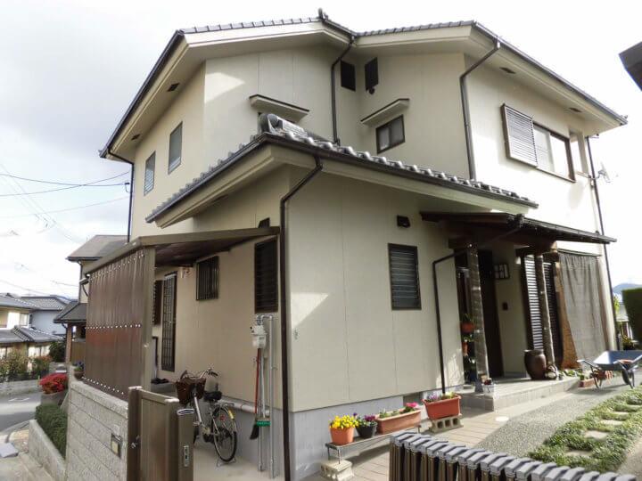 広島市南区 M様邸 外壁塗装工事