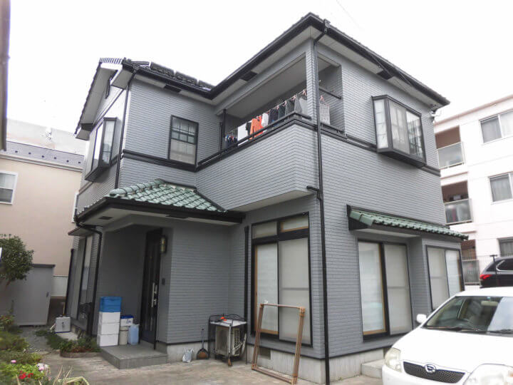 広島市佐伯区 K様邸 外壁塗装工事