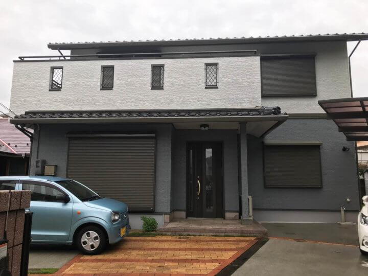 広島市佐伯区 F様邸 外壁塗装工事