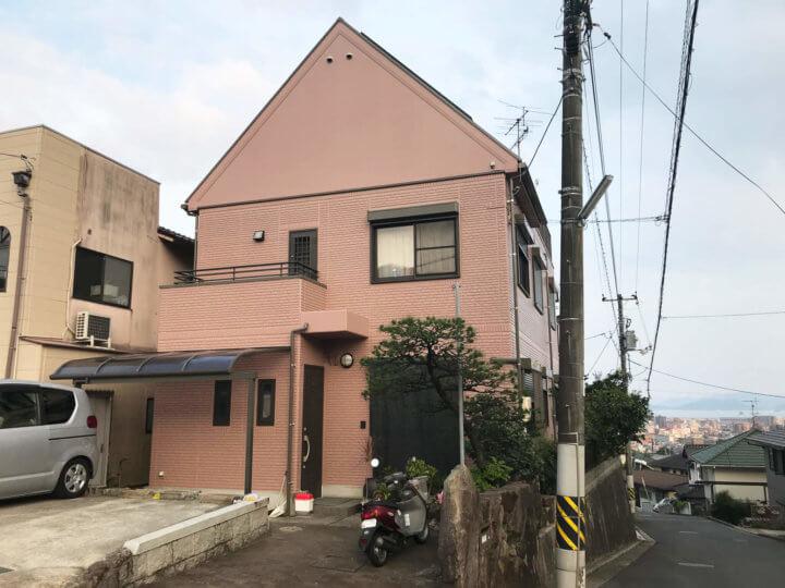 広島市佐伯区 K様邸 外壁塗装・屋根塗装工事