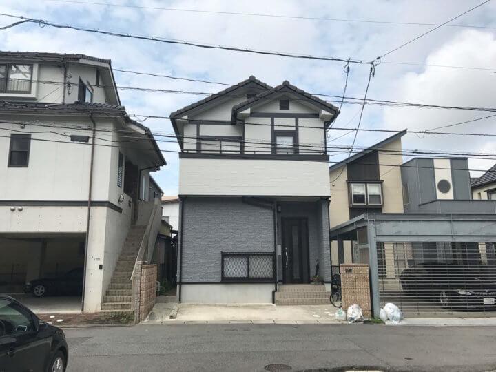 広島市西区 O様邸  外壁塗装工事