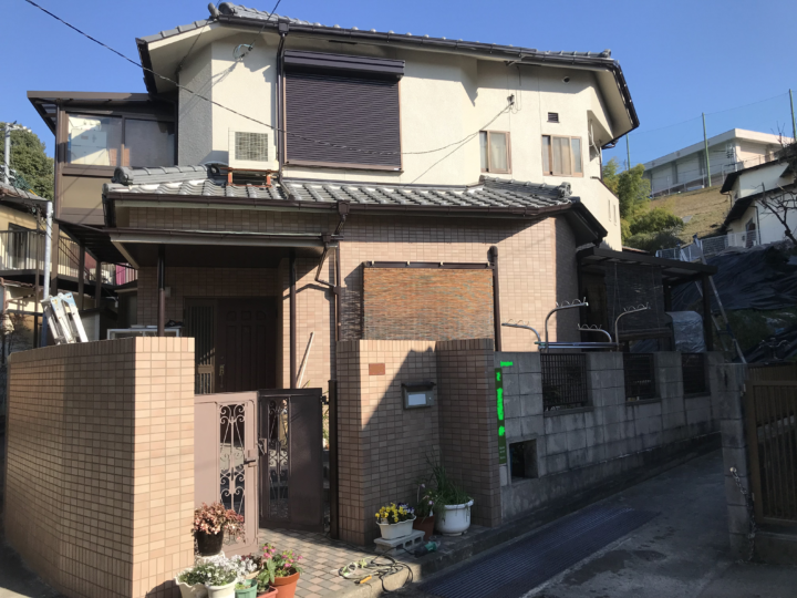 広島市南区向洋中町 K様邸 外壁塗装工事