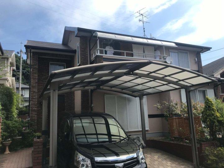 広島県廿日市市四季が丘 T様邸 外壁塗装・屋根塗装工事