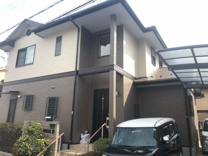 広島県廿日市市四季が丘上 K様邸 外壁塗装・屋根塗装工事