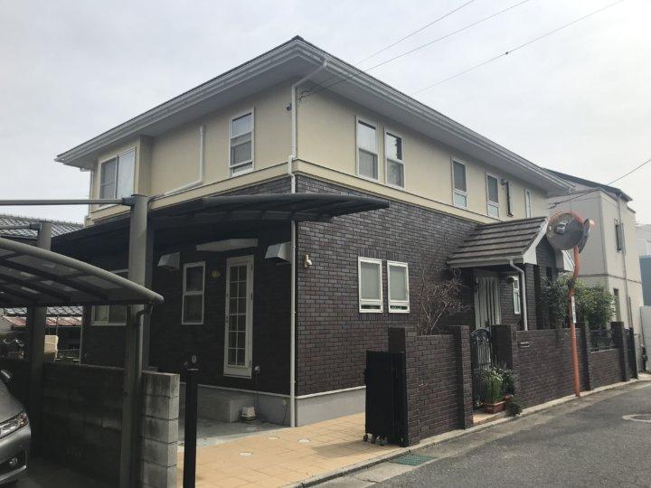 廿日市市佐方 O様邸 外壁・屋根塗装工事