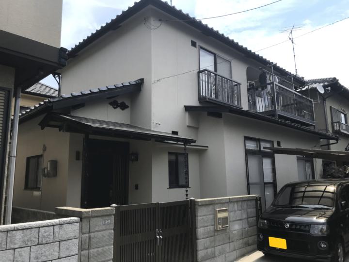 広島県廿日市市住吉 T様邸 外壁塗装工事
