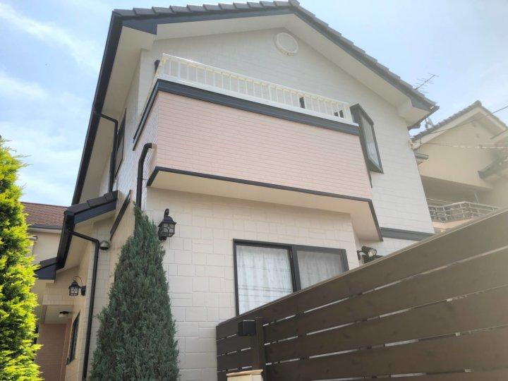 広島県安芸郡 H様邸 外壁塗装・屋根塗装工事