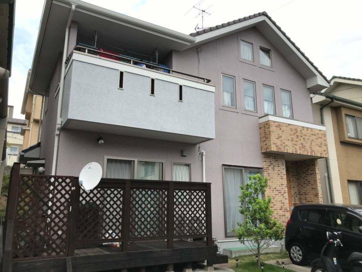 広島市西区己斐 K様邸 外壁塗装工事