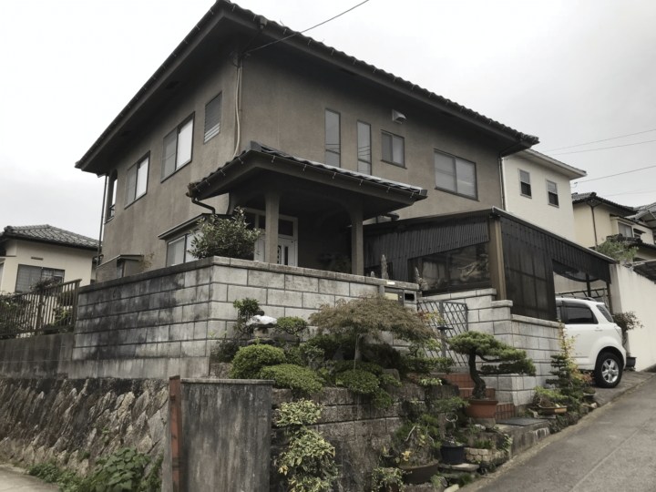 広島市佐伯区観音台 K様邸 外壁塗装・屋根張り替え工事