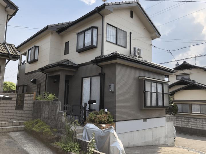 広島市佐伯区五月ヶ丘 Z様邸 外壁塗装・屋根塗装工事