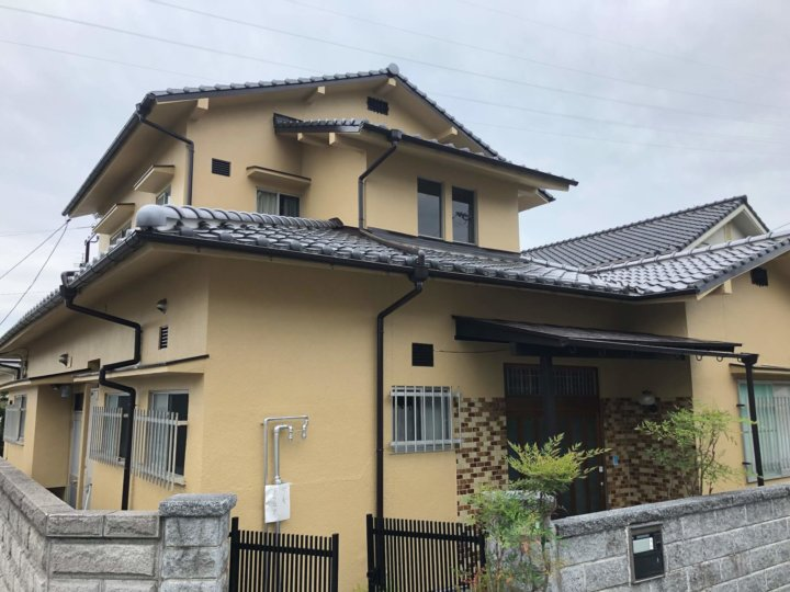 広島市西区己斐上 S様邸 外壁塗装工事