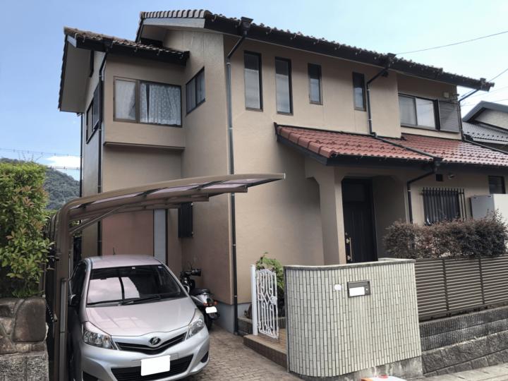 広島市佐伯区美鈴が丘 F様邸 外壁塗装・屋根塗装工事