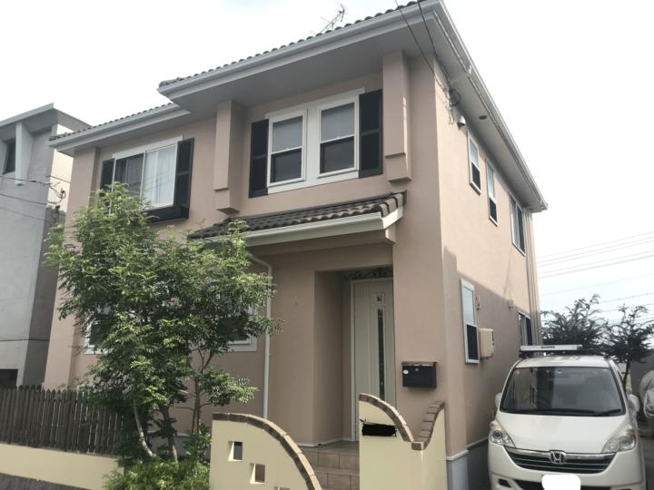 広島市西区古田台 K様邸 外壁塗装・屋根塗装工事