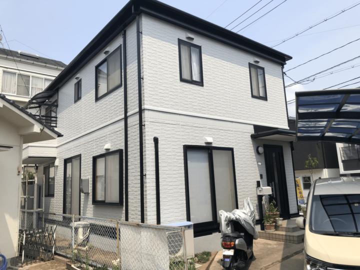 広島市佐伯区屋代 K様邸 外壁塗装・屋根塗装工事