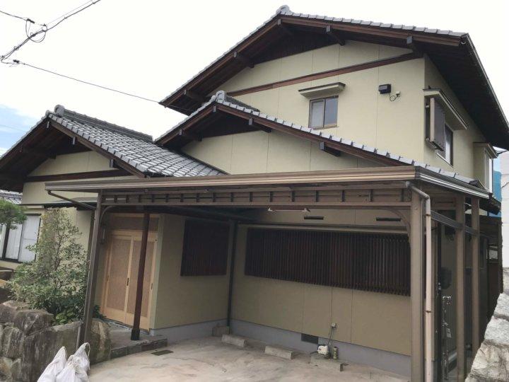 広島県廿日市市佐方 N様邸 外壁塗装工事