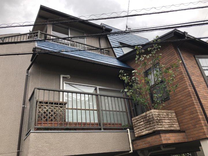 広島市南区青崎 F様邸 外壁塗装・屋根塗装工事