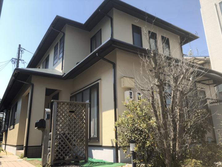 広島市南区堀越 E様邸 外壁塗装・屋根塗装工事