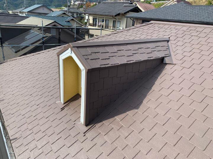 広島県廿日市市宮園上 N様邸 屋根塗装工事