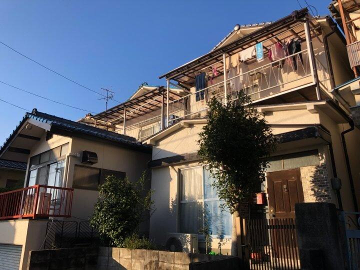 広島市東区上温品 O様邸 外壁塗装工事