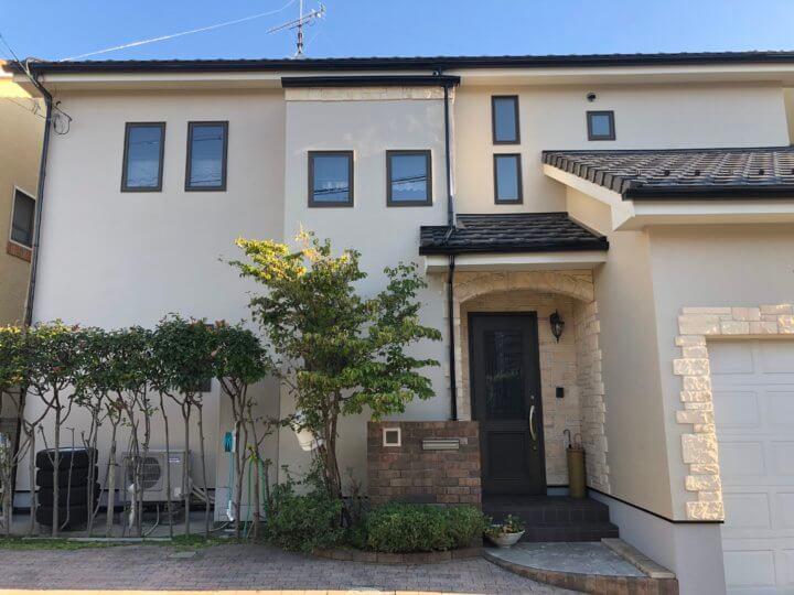 広島県廿日市市桜尾 H様邸 外壁塗装工事