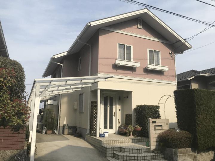 広島市佐伯区観音台 N様邸 外壁塗装・屋根塗装工事