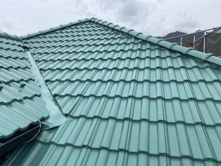 広島県廿日市市対厳山 K様邸 屋根塗装工事