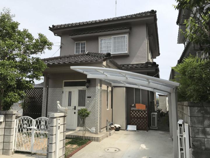 広島県安芸郡熊野町 B様邸 外壁塗装・屋根塗装工事