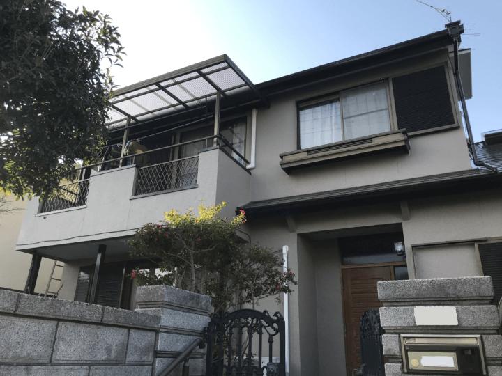 広島市佐伯区観音台 A様邸 外壁塗装・屋根塗装工事