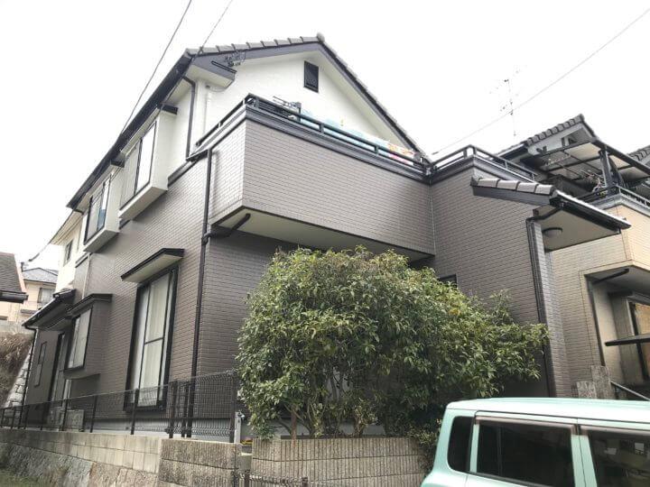 広島市佐伯区観音台 O様邸 外壁塗装・屋根塗装工事