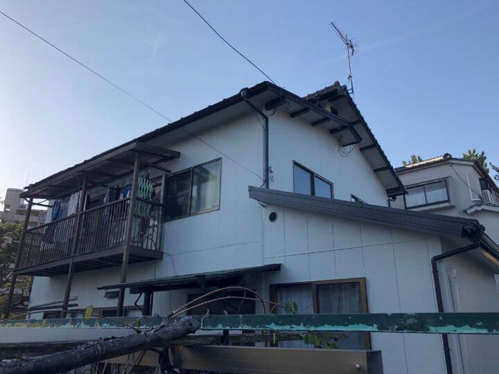 広島県安芸郡府中町大通 I様邸 外壁塗装・屋根塗装工事