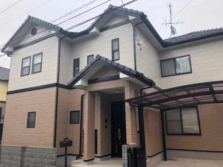 広島県安芸郡府中町みくまり H様邸 外壁塗装工事
