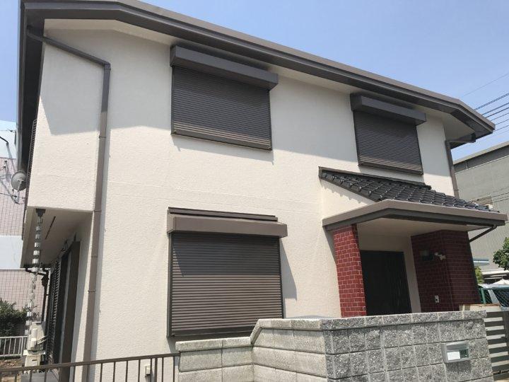 広島市西区草津新町 D様邸 外壁塗装工事・駐車場リフォーム
