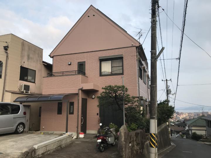 広島市佐伯区三宅 K様邸 外壁塗装・屋根塗装工事