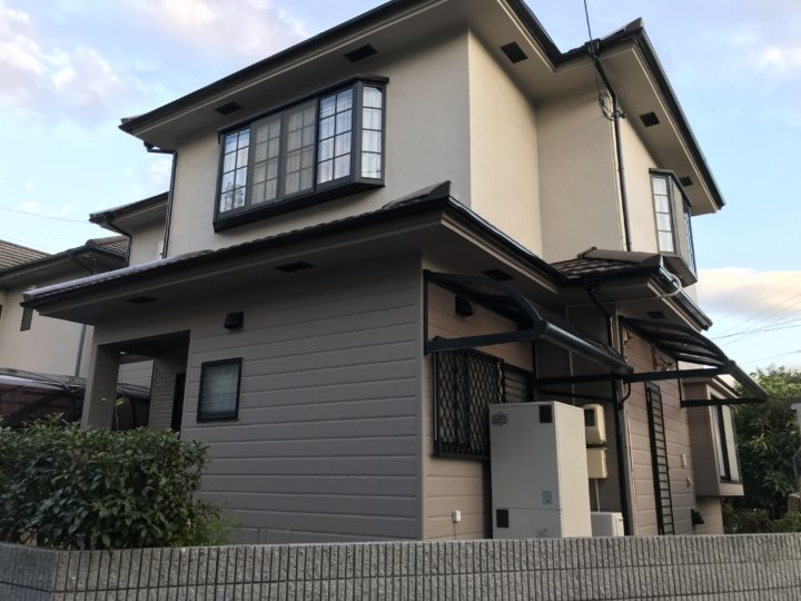 広島県廿日市市宮内 T様邸 外壁塗装・屋根塗装工事