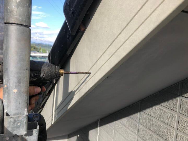 ②破風板取り替え工事