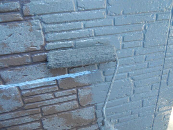 ⑬外壁中塗り