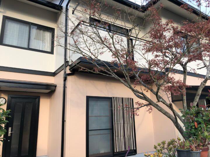 広島市佐伯区藤の木 K様邸 外壁塗装・屋根塗装工事