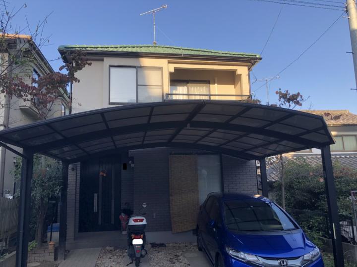 広島市東区戸坂くるめ木 K様邸 外壁塗装・屋根塗装工事
