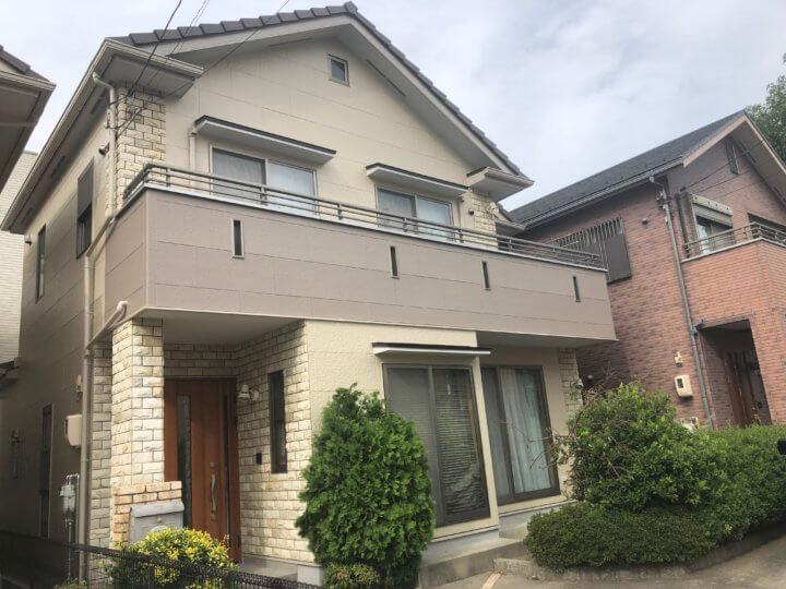 広島市南区東青崎町 S様邸 外壁塗装・屋根塗装工事