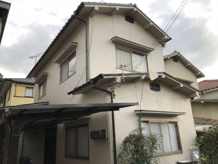 広島市西区己斐大迫 M様邸 外壁塗装工事