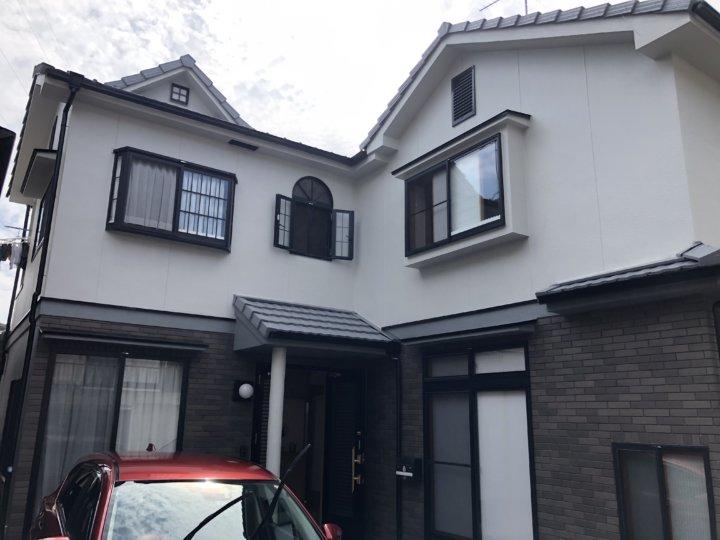 広島市安芸区中野東 O様邸 外壁塗装・屋根塗装工事