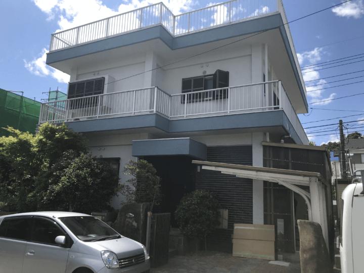 広島市佐伯区美鈴が丘東 S様邸 外壁塗装工事・屋上防水工事