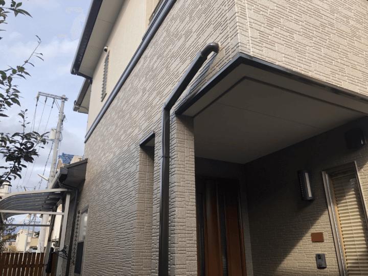 広島県安芸郡府中町大通 H様邸 外壁塗装・屋根塗装工事