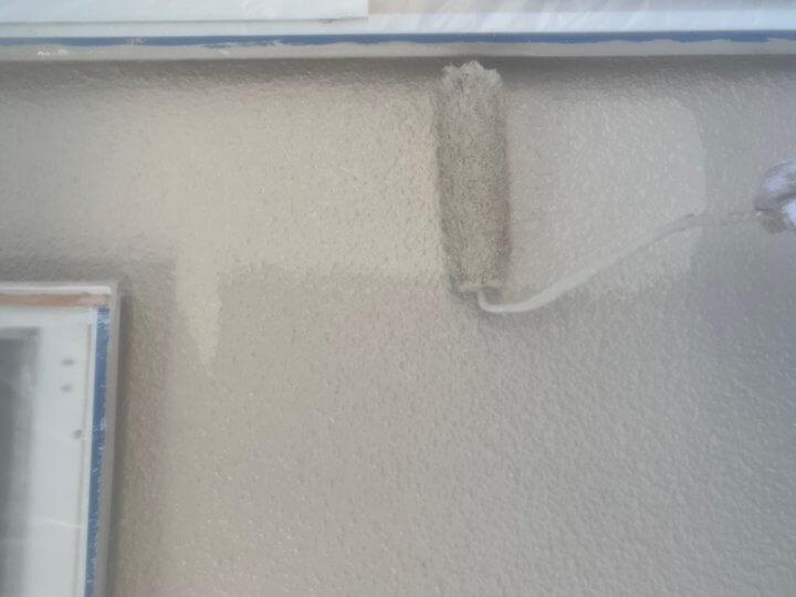 外壁上塗り 二回目
