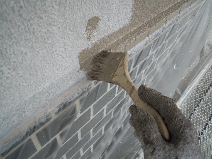 ⑤外壁上塗り 一回目
