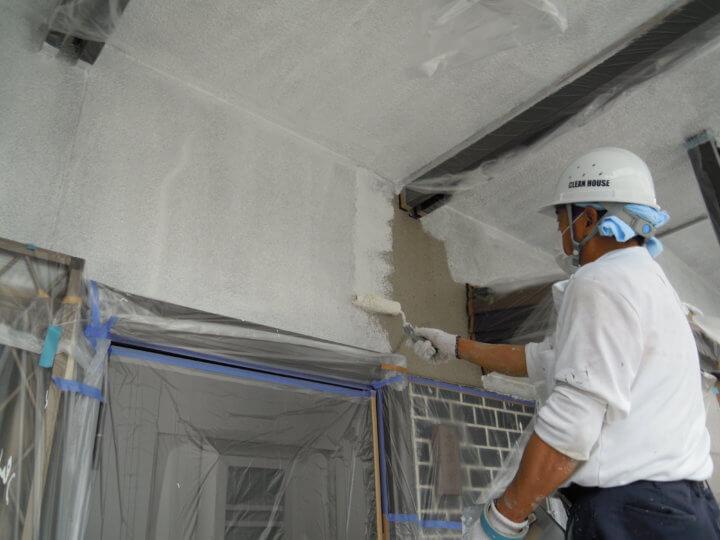 ④外壁下塗り