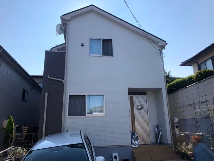 広島市西区己斐中 S様邸 外壁塗装工事