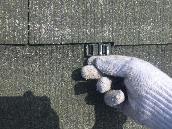 ⑧屋根タスペーサー取り付け