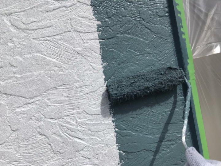 ⑰外壁上塗り 一回目
